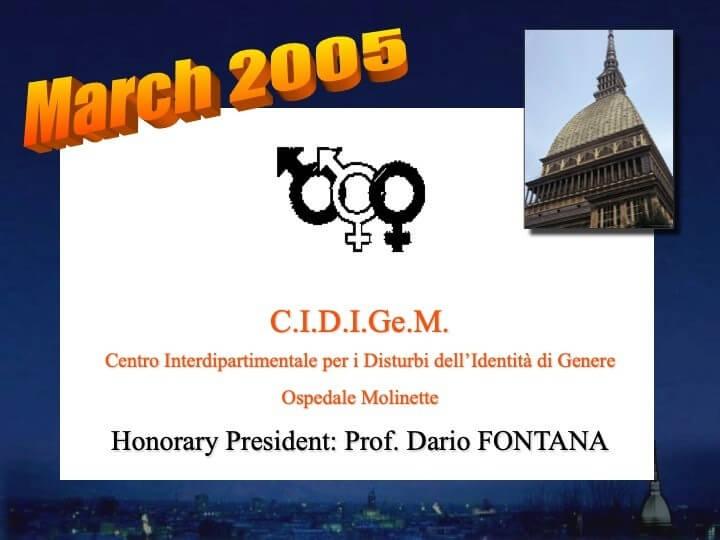 Cidigem Torino 2005
