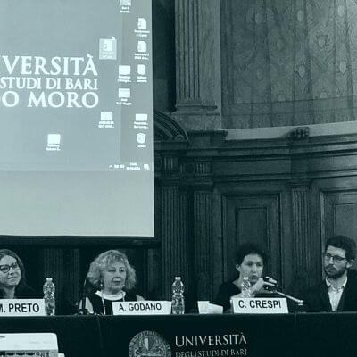 Conferenza Mirko Preto, Chiara Crespi, Giovanna Motta