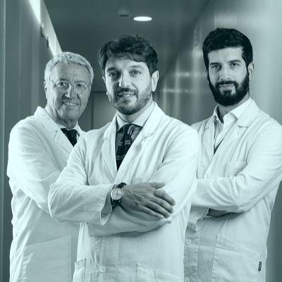 Androteam: dottor Timpano, dottor Rolle, dottor Falcone